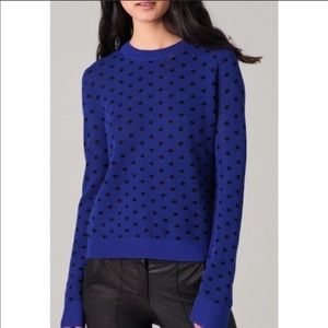A.L.C dot school girl sweater